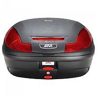 [해외]GIVI E470 Simply III Top Case 9138044135 Black / Red