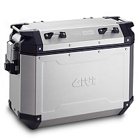 [해외]GIVI Trekker Outback 37 Side Cases Set 9138044181 Natural Aluminium