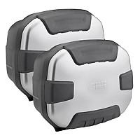 [해외]GIVI Trekker II 35 Side Cases Set 9138044420 Natural Aluminium