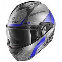 [해외]샤크 Evo GT Encke Modular Helmet 9137761215 Matte Anthracite / Blue / Black