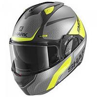[해외]샤크 Evo GT Encke Modular Helmet 9137761216 Matte Anthracite / Yellow / Black