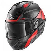 [해외]샤크 Evo GT Encke Modular Helmet 9137761218 Matte Black / Red / Anthracite