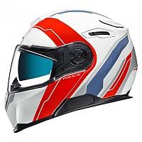 [해외]넥스 X.Vilitur Meredian Modular Helmet 9137764727 White / Red