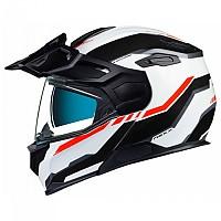 [해외]넥스 X.Vilijord Continental Modular Helmet 9137764748 White / Black / Red