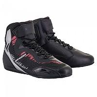 [해외]알파인스타 Stella Faster 3 Rideknit Motorcycle Shoes 9137795587 Black / Silver / Diva Pink