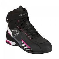 [해외]베링 Tiger Motorcycle Shoes 9137811634 Black / White / Fuchsia