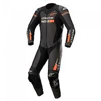 [해외]알파인스타 GP Force V2 Suit 9137786329 Black / Red Fluo