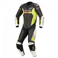 [해외]알파인스타 GP Force V2 Suit 9137786331 Black / White / Red Fluo / Yellow Fluo