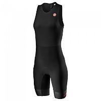 [해외]카스텔리 Team SD Sleeveless Trisuit 1137972525 Black
