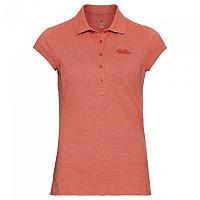 [해외]오들로 Kumano Short Sleeve Polo Shirt 4137969867 Burnt Sienna Melange