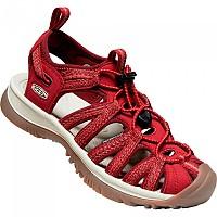 [해외]KEEN Whisper Sandals 4138009992 Red Dahlia