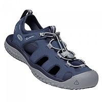 [해외]KEEN Solr Sandals 4137536621 Navy / Steel Grey