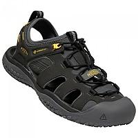 [해외]KEEN Solar Sandals 4137536623 Black / Gold
