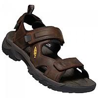 [해외]KEEN Targhee III Open Toe Sandals 4137536631 Bison / Mulch