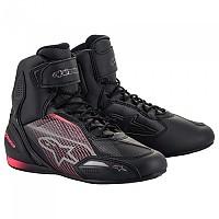 [해외]알파인스타 Stella Faster 3 Motorcycle Shoes 9137795585 Black / Gun Metal / Diva Pink