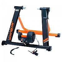[해외]JETBLACK CYCLING M5 Pro Magnetic Turbo Trainer 1138083458 Black / Orange