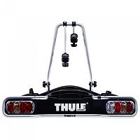 [해외]툴레 EuroRide 13-Pin Bike Rack For 2 Bikes 1137943798 Black / Aluminium