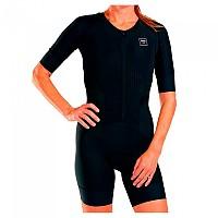 [해외]ZOOT Elite Tri Aero Short Sleeve Trisuit 1138083612 Black