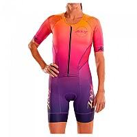 [해외]ZOOT LTD Tri Aero Short Sleeve Trisuit 1138083648 Sunset