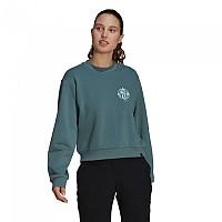 [해외]파이브텐 Cropped Sweatshirt 1137926543 Hazy Emerald