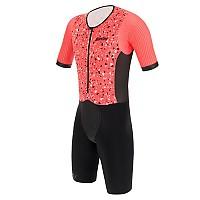 [해외]산티니 Viper Pietra Aero Short Sleeve Trisuit 1137812449 Grenadine