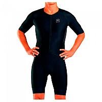 [해외]ZOOT Elite Tri Aero Short Sleeve Trisuit 1138083625 Black