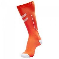 [해외]험멜 Compression 3138006625 Shocking Orange / White