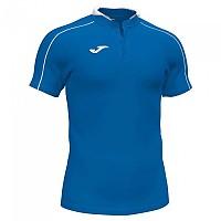 [해외]조마 Scrum Short Sleeve Polo Shirt 3137978407 Royal / White