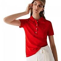 [해외]라코스테 Slim Fit Stretch Piqu? Short Sleeve Polo Shirt Red