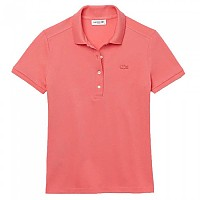 [해외]라코스테 Slim Fit Stretch Piqu? Short Sleeve Polo Shirt Amaryllis