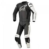 [해외]알파인스타 GP Force Phantom Suit 9137823315 Black / White / Metallic Grey