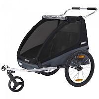 [해외]툴레 Chariot Coaster XT 1137943906 Black