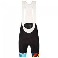 [해외]산티니 Tour Of Flanders 2021 Karma SASSI UCI Splashes Design Bib shorts 1138083683 Black / White