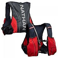 [해외]NATHAN VaporSwift 4L Hydration Vest 4137996200 Blue Nights / High Risk Red
