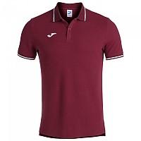 [해외]조마 Confort II Short Sleeve Polo Shirt 3137978336 Wine / White