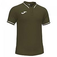 [해외]조마 Confort II Short Sleeve Polo Shirt 3137978338 Olive / White