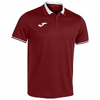 [해외]조마 Championship VI Short Sleeve Polo Shirt 3137978508 Wine / White
