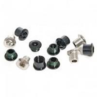 [해외]스램 Chainring Bolt Kit 4-Arm Triple Aluminum/Stainless 1137671106 Black