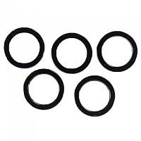 [해외]스램 Chainring Nut Spacer Kit 2 mm Aluminum 5 Units 1137671115 Black