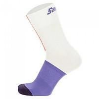 [해외]산티니 Lizzie Deignan Lovers Half Socks 1138103149 White