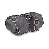 [해외]GIVI EA127 Side Saddlebags 9138106689 Black / Grey