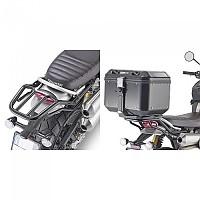 [해외]GIVI Monokey Top Case Rear Rack Fitting Triumph Scrambler 1200 9138106719 Glossy Black