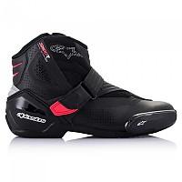 [해외]알파인스타 Stella SMX-1 R V2 Vented Motorcycle Shoes 9137823293 Black / Diva Pink