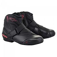 [해외]알파인스타 Stella SMX-1 R V2 Motorcycle Shoes 9137823298 Black / Diva Pink