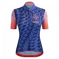 [해외]산티니 Lizzie Deignan Lovers Short Sleeve Jersey 1138103145 Pink / Blue