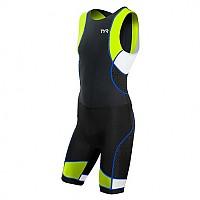 [해외]티어 Competitor Sleeveless Trisuit 1136387382 Black / Lime / Blue
