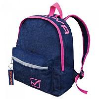 [해외]GIVOVA University Jeans 8L Backpack 3138123498 Dark Blue Jeans / Fluor Fuxia