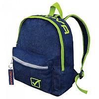[해외]GIVOVA University Jeans 8L Backpack 3138123499 Dark Blue Jeans / Fluor Yellow