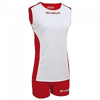[해외]GIVOVA Piper Set 3138124033 White / Red