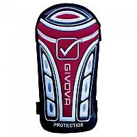 [해외]GIVOVA Protection Football Shinguards 3138127232 Black / Red